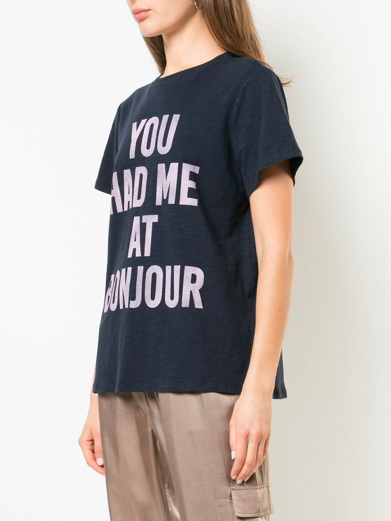 You Had Me At Bonjour Tee