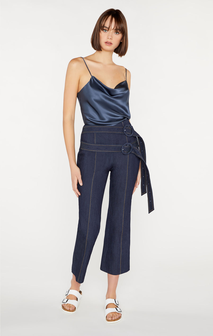 Denim Cropped Jessi Pant