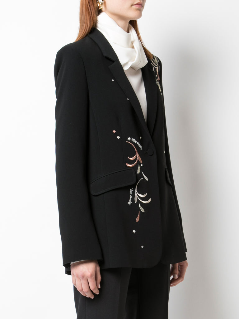 Embroidered Estelle Blazer