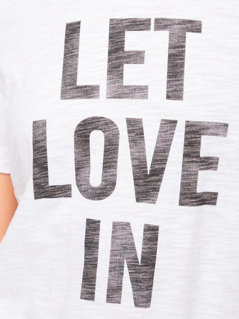 Let Love In Tee