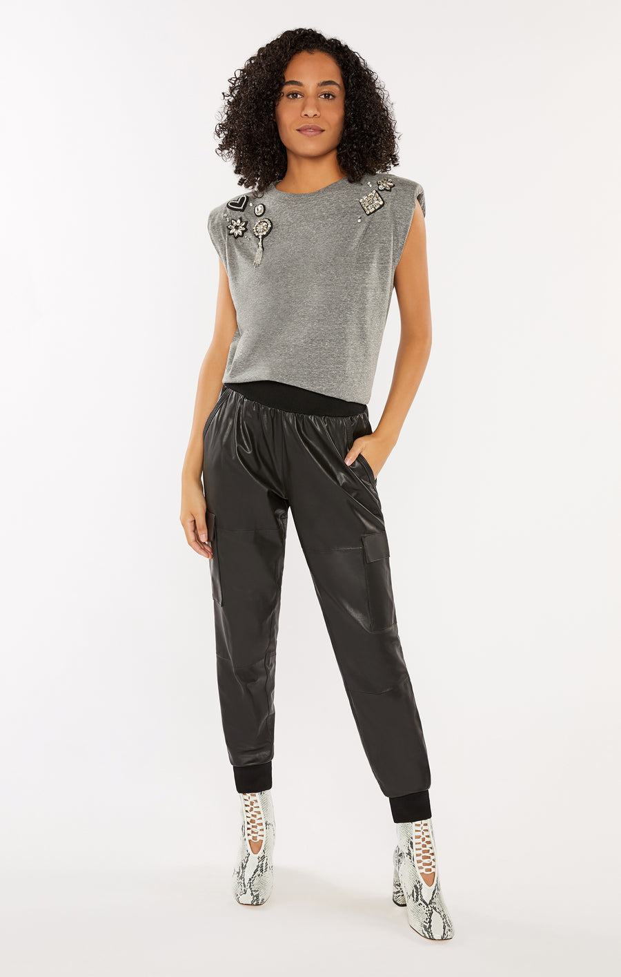 Leather Giles Pant