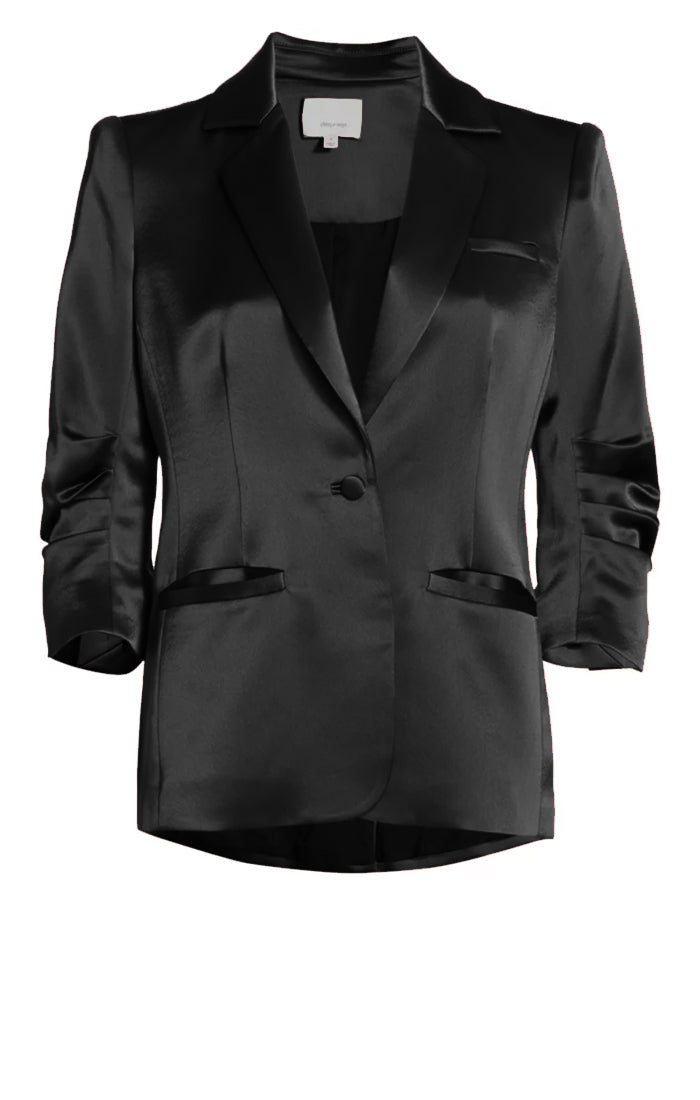 Smooth Satin Khloe Blazer