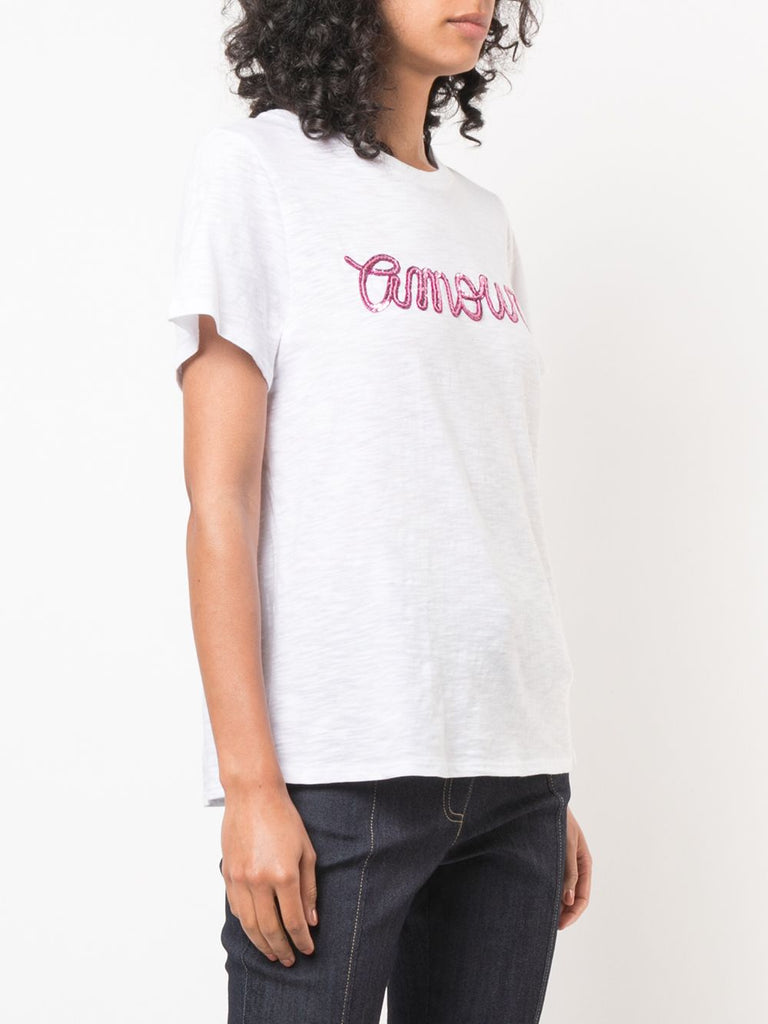 Sequin Amour Tee