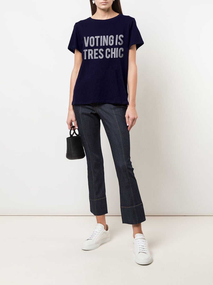 Voting Is Tres Chic Tee