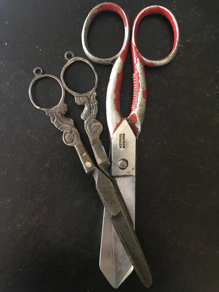 Scissors from both my grandmothers