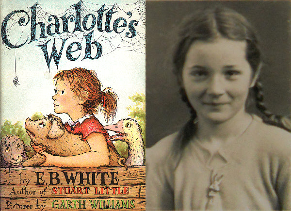 My mom was the model for Fern in Charlotte's Web