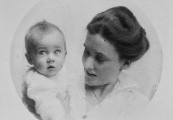 Maud von Davidson with daughter Gisela