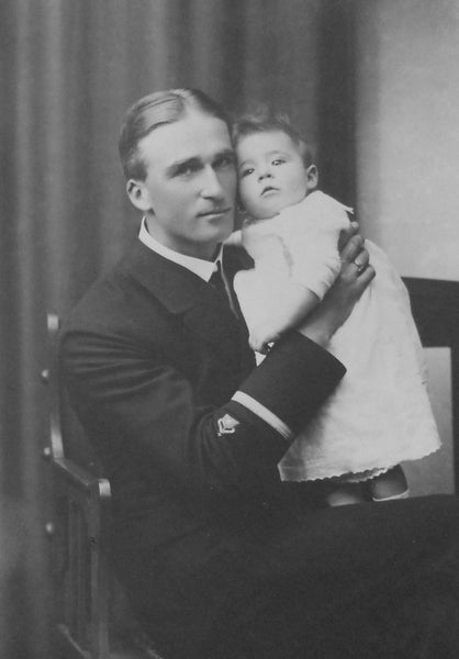 Eduard von Davidson with daughter Gunda