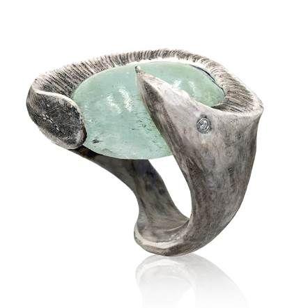 Unusual ring at Szor Collections in Dallas, TX