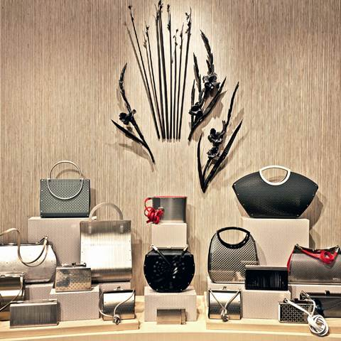 Handbag selection at Szor Collections in Dallas, Texas