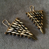 Jessica Rose & Estyn Hulbert Bullet Triangle Earrings