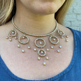 Princess Necklace - Champagne Pearl