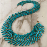 Turquoise Wild Geese necklace