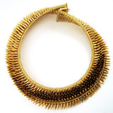 Gold-plated Bullet Choker designed by Jessica Rose