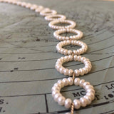 Detail of White Pearl Twin Set Necklace