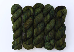 Evergreen Bough on Fuse Merino Sock