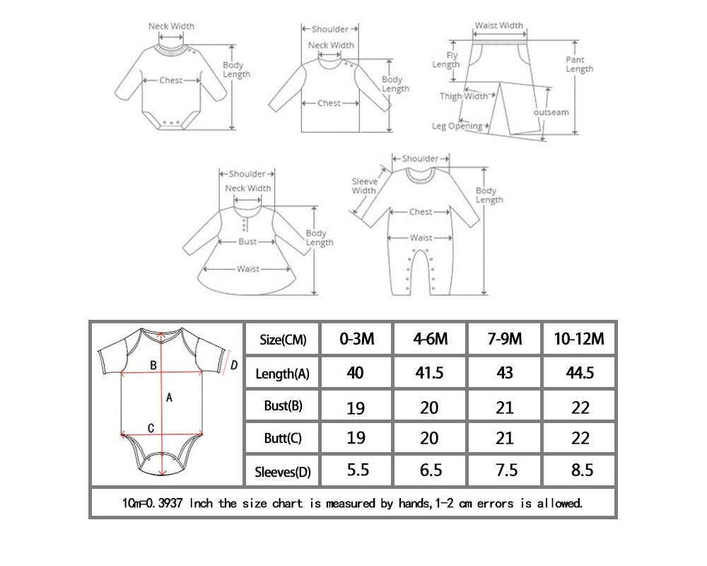 Karina Baby Boutique How To Measure Baby Clothes