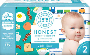 The Honest Company Club Box Newborn Diapers Size 2
