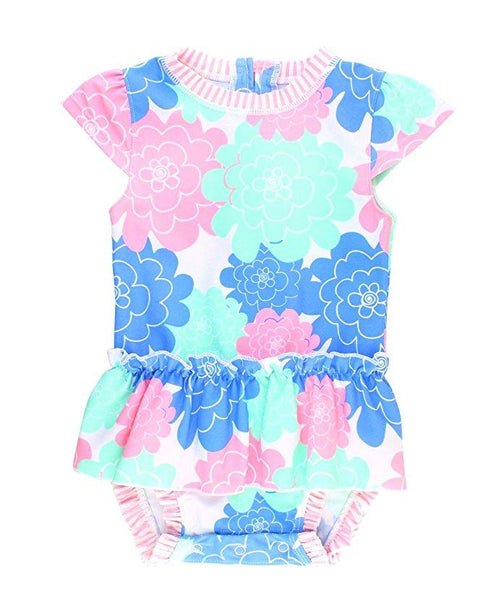 Baby Girl Swimwear | Rash Guard Peplum Girls Clothes Karina Baby Boutique