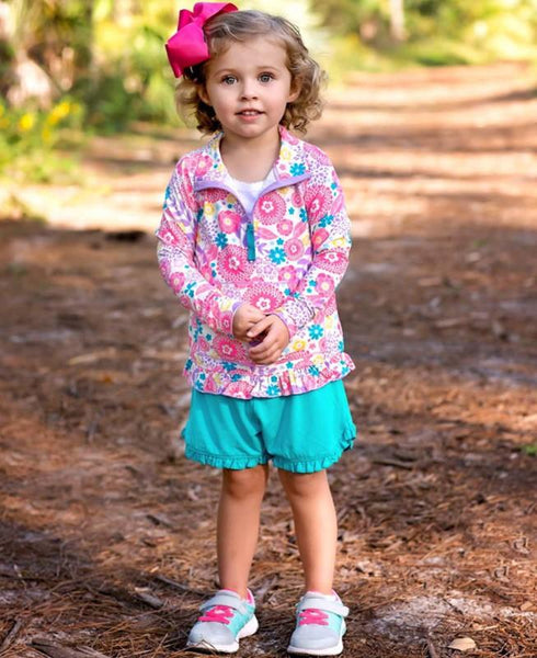 Blooming Buttercups Active Pullover Girls Clothes Karina Baby Boutique