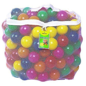 Click N' Play Pack of 200 Crush Proof Plastic Pit Balls Children Toys Karina Baby Boutique