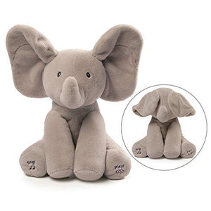 Gund Baby Animated Flappy The Elephant Plush Toy Children Toys Karina Baby Boutique