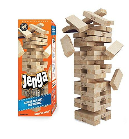 Jenga GIANT Genuine Hardwood Game Children Toys Karina Baby Boutique