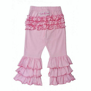 Pink Ruffle Pants Girls Clothes Karina Baby Boutique