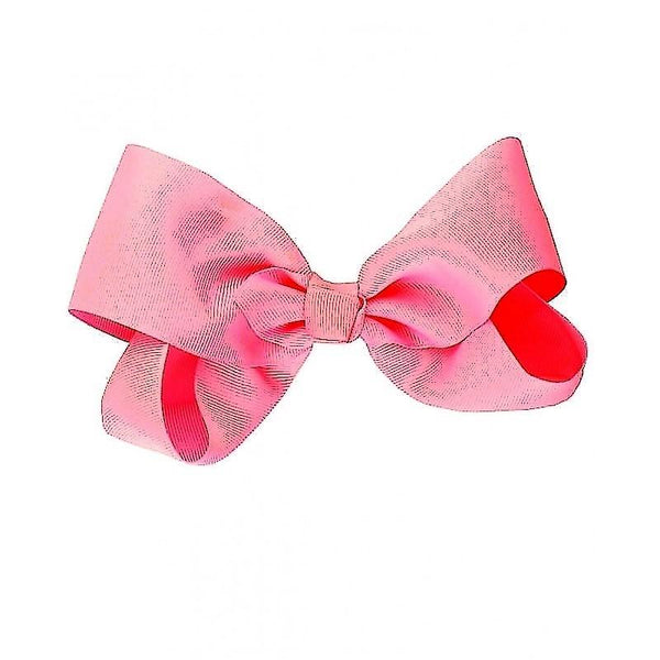Single Pink Bow Hair Accessory Girls Clothes Karina Baby Boutique