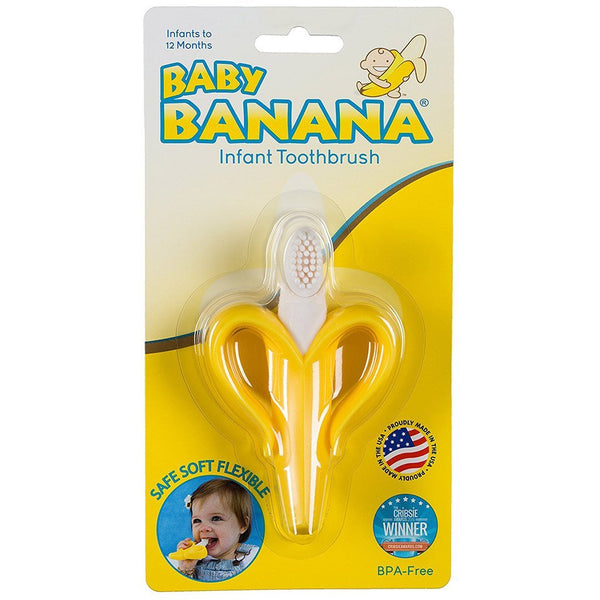 The Original Baby Banana Toothbrush Baby Products Karina Baby Boutique