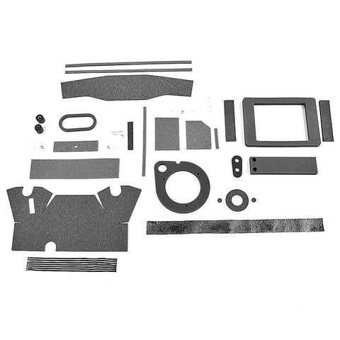 Heater Box Restoration Seal Kit, w/AC, 1968-70 AMC AMX, Javelin