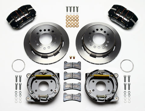 1969-1979 AMC Wilwood Forged Dynapro Low Profile Rear Disc Brake Kit - (Two Variations)