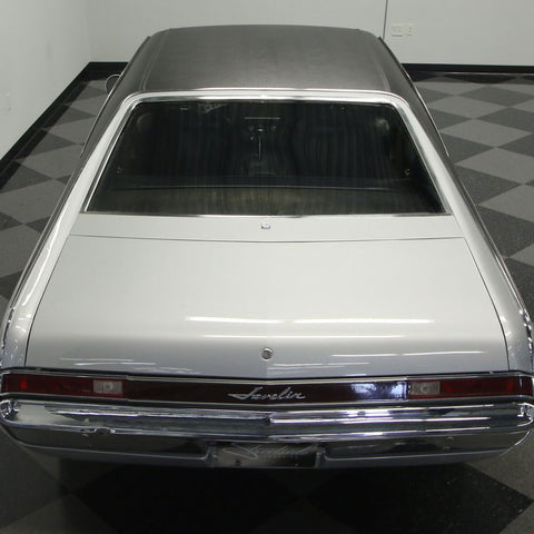 Vinyl Top Kit, Full Top with Clips, 1968-69 AMC Javelin (2 Colors)