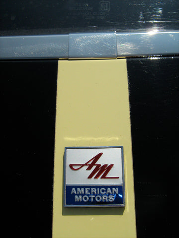 Early 1970 AMC AMX 390 Complete Exterior Emblem Kit