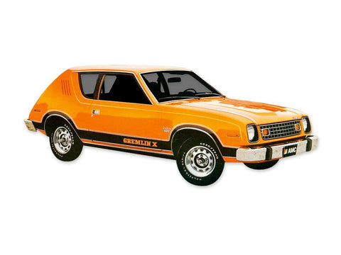1978 AMC Gremlin X 2 Color Decals & Stripes Kit (2 Colors)