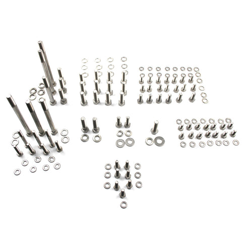 Engine Bolt Kit, 146 Pieces, T-304 Stainless - 1966-1991 AMC V-8, Jeep, International