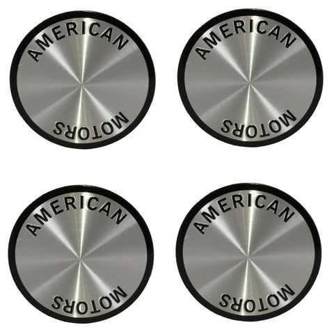 1964-88 AMC Magnum 500 Wheel Center Cap Emblem Kit