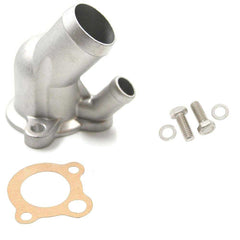 Thermostat Housing Kit, Cast Aluminum, Satin, 1966-91 AMC, Jeep V-8 - AMC Lives