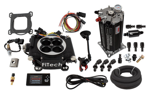 1966-1991 AMC V8 FiTech Go EFI 4 600 HP Self-Tuning Fuel Injection System with Fuel Command Center