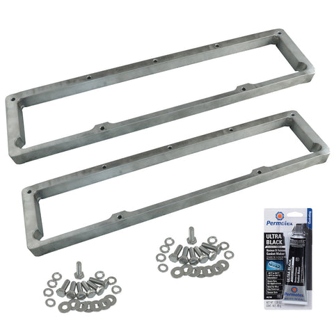 "Valve Cover Spacer Kit, 1/2"" Billet Aluminum, 1966-91 AMC V-8"