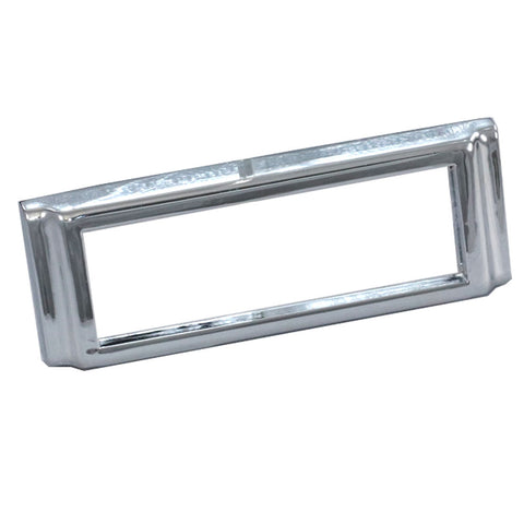 Bezel Kit, Front or Rear Side Marker Lens, Chrome, 1964-69 Rambler American - AMC Lives