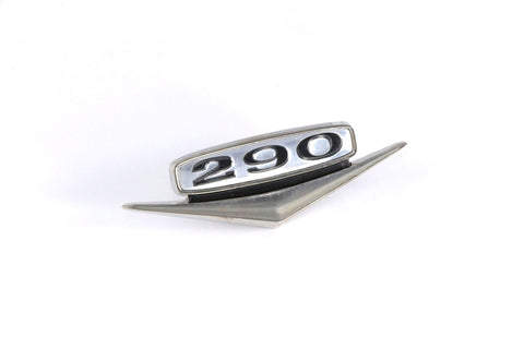 1968-69 AMC 290 Emblem - Black & Chrome (2 Required)