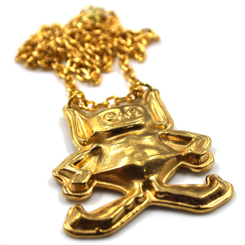Gremlin Man with Chain Necklace, Gold - AMC Lives