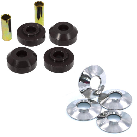 Strut Rod Bushing & Washer Kit, Urethane & Stainless, 1964-88 AMC, Limited Lifetime Warranty - AMC Lives