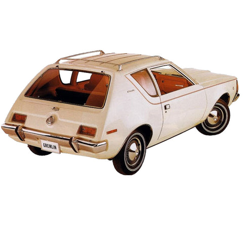 Decal and Stripe Kit, Factory Authorized Reproduction, Version 1, 1970-71 AMC Gremlin (3 Colors)