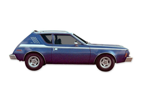Decal and Stripe Kit, Factory Authorized Reproduction, 1973-75 AMC Gremlin, Non-X (6 Colors)