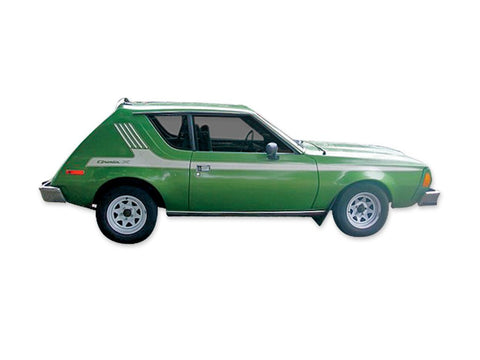 1975-1976 AMC Gremlin X Decals & Stripes Kit (6 Colors)