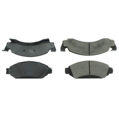Brake Pads, Semi-Metallic, Front Disc, 1972-74 AMC Ambassador, 1973-76 Gremlin/Hornet, 1972-74 Javelin,  1974-78 Matador, 1975-76 Pacer, 1974-80 International, 1977-78 Jeep CJ5/CJ7