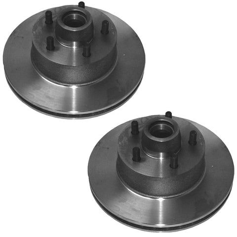 Brake Rotors, Front Disc, Set of 2, 1971-75 AMC w/Kelsey Hayes Pin-Type Calipers, Limited Quantities (See Applications)