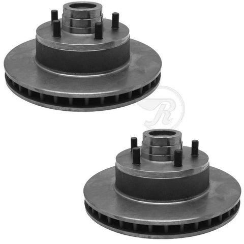 Brake Rotors, Front Disc, Set of 2, 1972-78 AMC w/Bendix Slide Type Calipers, Limited Quantities (See Applications)